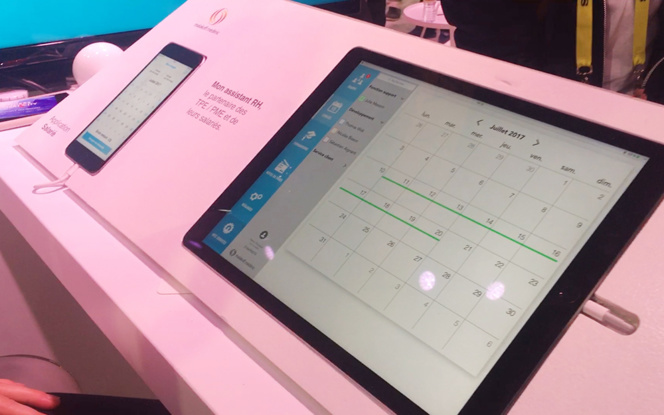 Smartphone et tablette pour gérer les relations humaines selon Malakoff Médéric - La poste