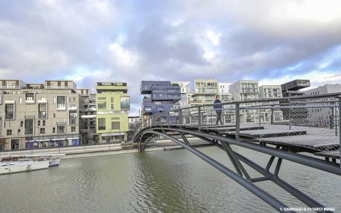 Le quartier de la Confluence à Lyon