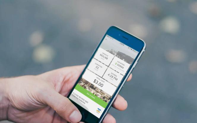 La solution PayByPhone installée dans plus de 150 villes de France et à l'étranger (photo PBP UK)