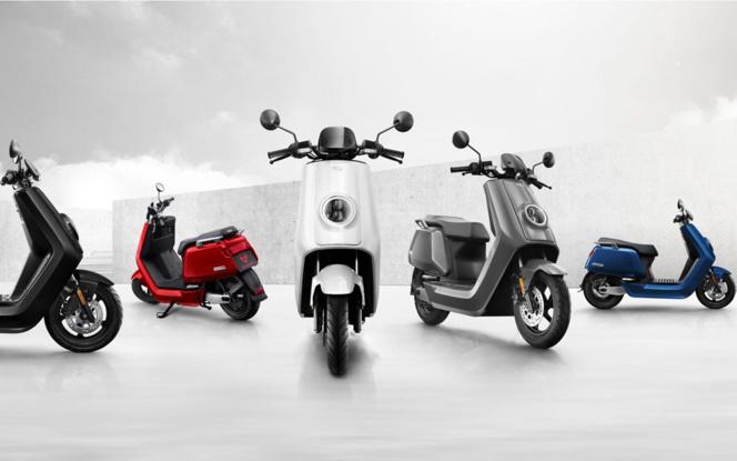 La gamme de e-Scooter NIU (photos Cédric Voigt (Ballou PR)