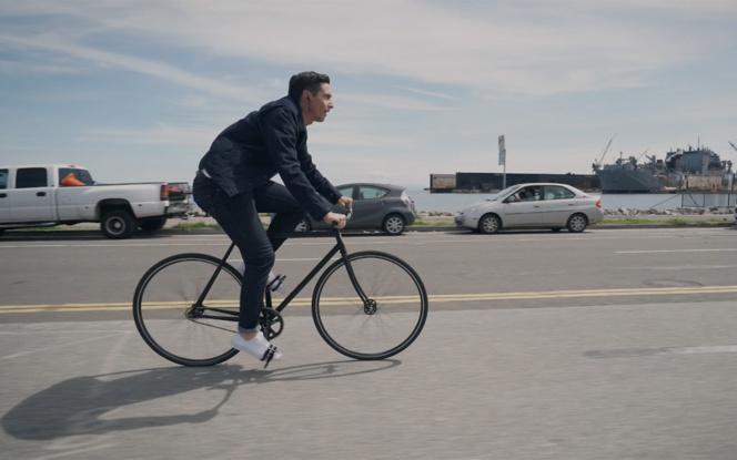 Une technologie qui pourrait rendre service aux cyclistes voir assurer leur sécurité (photo extraite de la vidéo de démonstration)