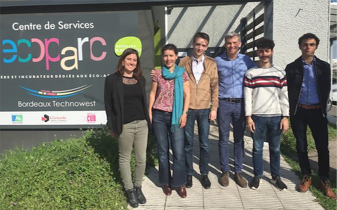 les nouvelles startups qui vont rejoindre l'Ecoparc de de Blanquefort  (photo Technowest)