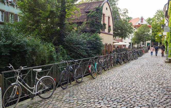 Fribourg, la ville du futur ? (Photo d'archive Adobe Stock)