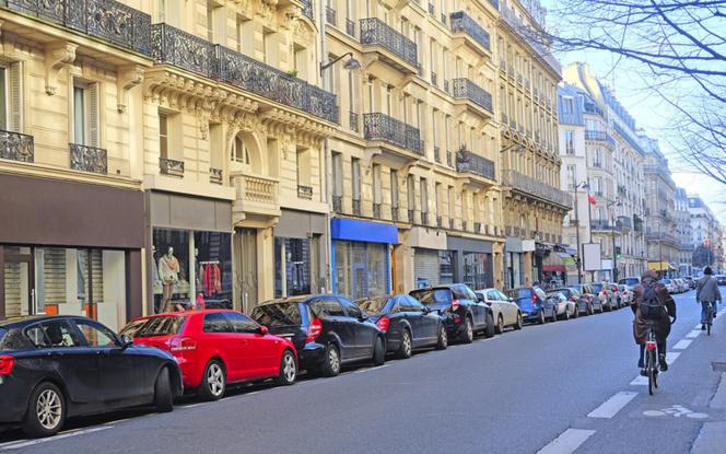 A Paris, le stationnement n'est pas une sinécure ( Photo © Dmitry Vereshchagin )