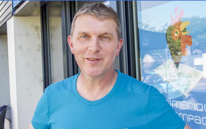 Olivier Bomard, gérant de Monagraphic et organisateur du NALC 2017