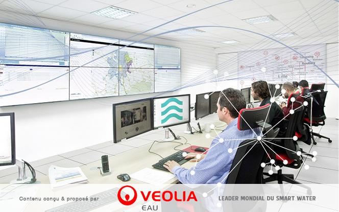 Waternamics : l'hypervision experte de Veolia