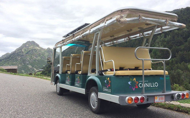 La navette touristique électrique autonome de Canillo (photo Andorra Turisme SAU)