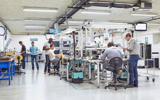 La Cité de l'Objet Connecté, l'un des occupants de la Wise'Factory dans laquelle va s'implanter le programme européen Numa Angers IoT (Photo Ville d'Angers. © L. de Serres)