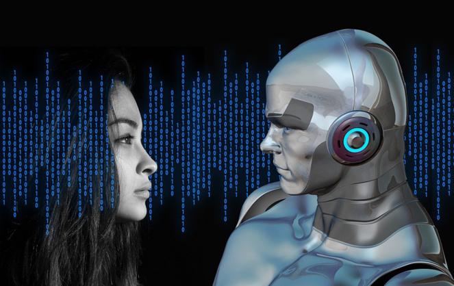 Etre ou ne pas être, telle est la question pour le robot, mais aussi pour l'homme (Photo Daily Geek Show)