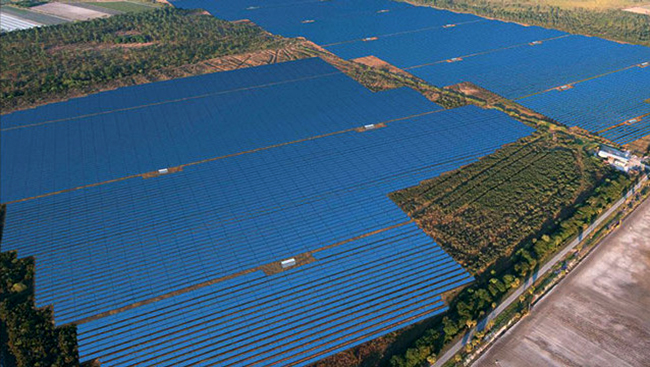 La ferme solaire de Babcock Ranch (photo Florida Power and Light)