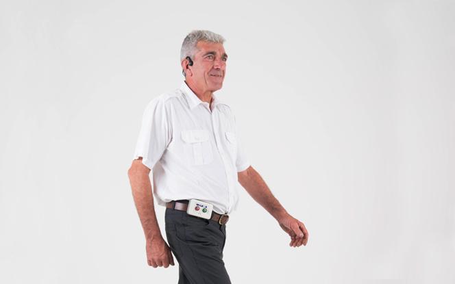 Un appareil simple qui permet aux personnes atteintes de la maladie de Parkinson ou après un AVC de retrouver leur indépendance (photo Resilient Innovation)