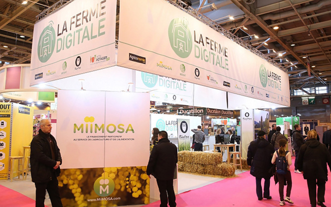 La Ferme Digitale au Salon International de l'Agriculture de Paris (Photo SIA)