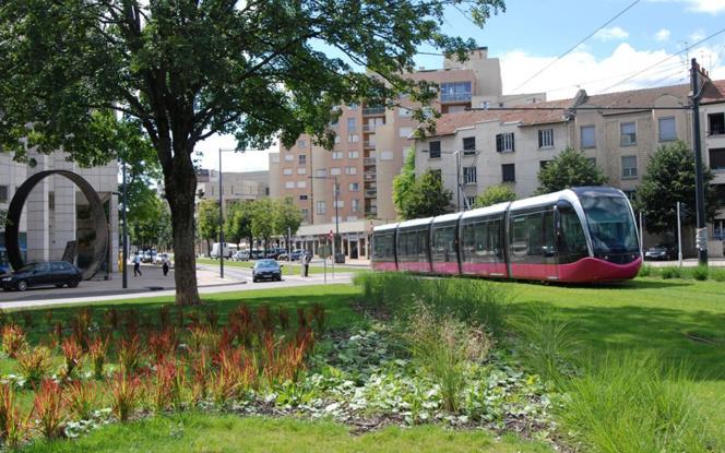 Le tramway de Dijon (Photo Dijon Métropole)