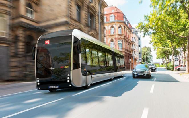 Le Fébus sera déployé sur une ligne à haut niveau de service, au cours du second semestre 2019. (photo Ville de Pau)