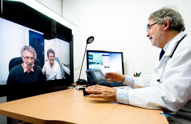 La médecine à distance, un moyen de résoudre le problème des déserts médicaux (Photo Sciences et Avenir)