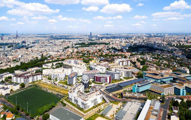 L'éco-quartier du Fort d'Issy, un territoire à la pointe du numérique (Photo Construction 21)