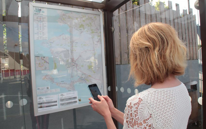 Une seule application sur smartphone pour voyager partout (Photo tixiPASS)
