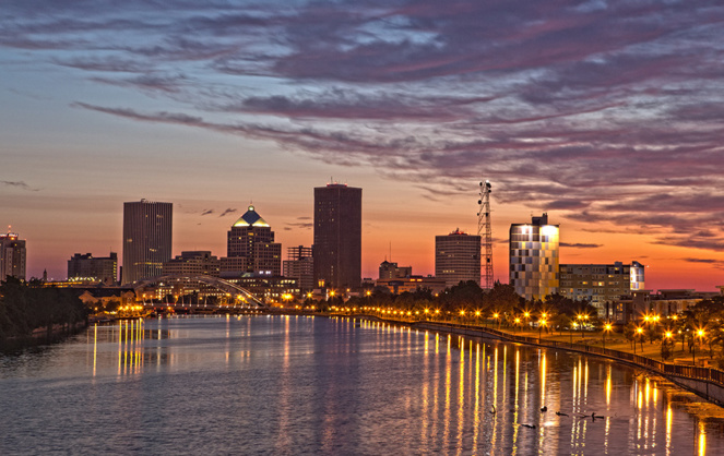 La ville nord américaine de Rochester (Photo Adobe Stock)