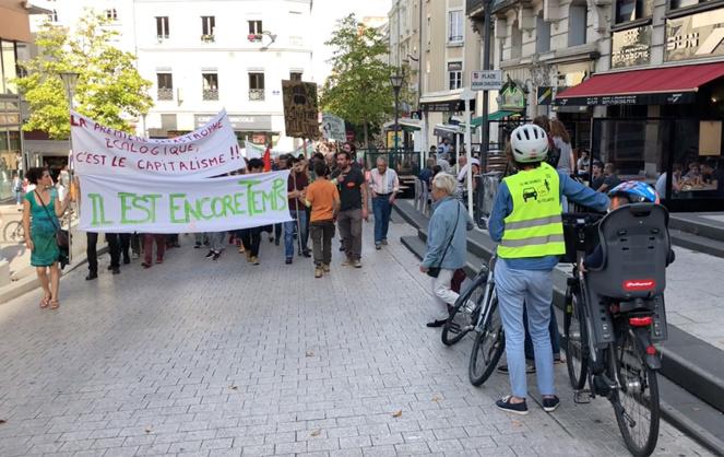 Marche pour le climat: Il est encore temps d'agir