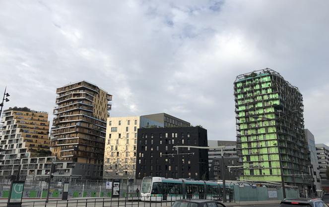Bâtiments neufs dans le 13e arrondissement de Paris (photo Y. Sourisseau)