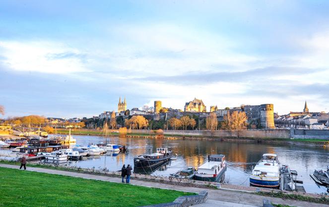 Angers et son château, une ville historique résolument tournée vers l'avenir (Photo VIM)