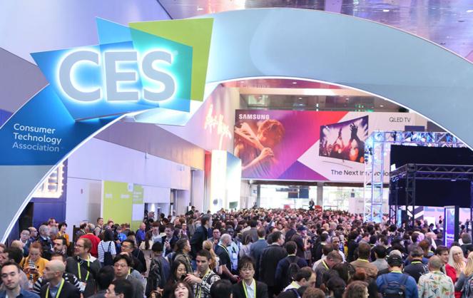 Le CES attire chaque année des visiteurs du monde entier (Photo Consumer Technology Association)