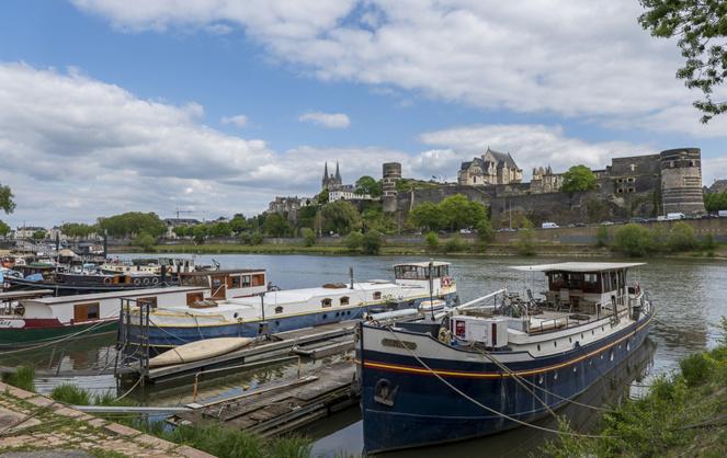 Le château d'Angers veille sur la transformation de la ville
