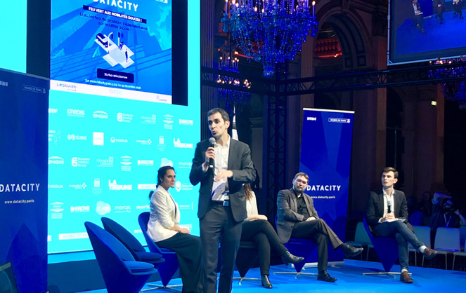 Présentation de Cyclope avec Leonard, la plateforme d'innovation de VINCI, Evesa, LACROIX Group, Ville de Paris (Photo Leonard Vinci)