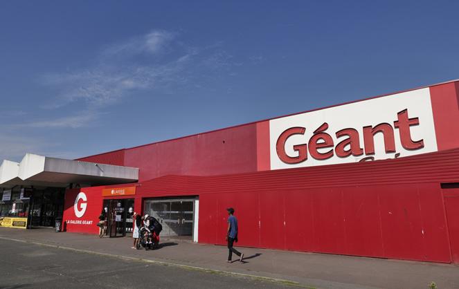 L'hypermarché Géant Casino à Angers