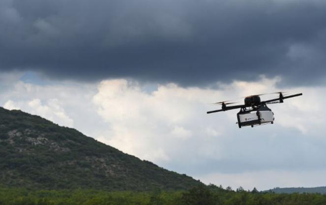 Une filiale de la Poste, DPD France utilise déjà cette technologie pour livrer certains paquets (Photo DPD)