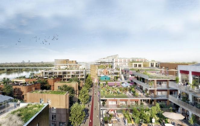 Le projet d'aménagement du village olympique réversibles (Photo © groupes Pichet et Legendre)