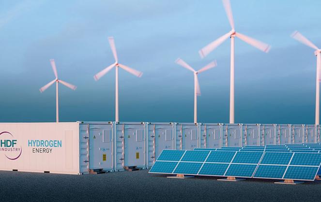 Les piles HDF peuvent stocker l'énergie produite par toutes les sources fournissant de l'énergie électrique (Photo HDF)