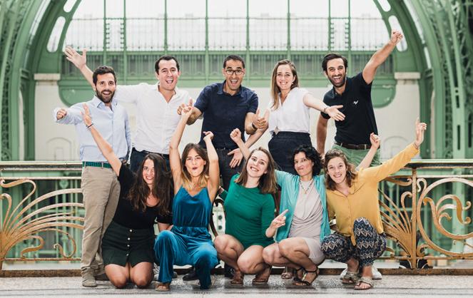 L'équipe organisatrice de ChangeNOW (photo Claire Pétrault)