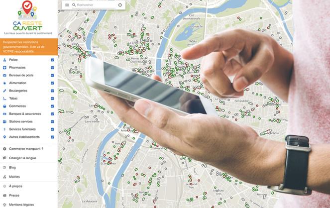 Une carte que chacun peut utiliser et renseigner facilement (photo montage Adobe Stock)