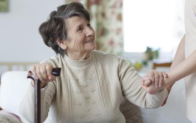 Virus ou canicule, les personnes âgées et isolées sont souvent plus fragiles. Ne les oublions pas (Photo Facebook Bluelinea)