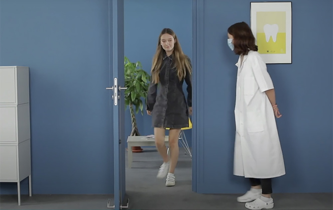 Un système ingénieux qui peut rendre service, à moindre coût dans les espaces médicaux (Photo vidéo Thirard)