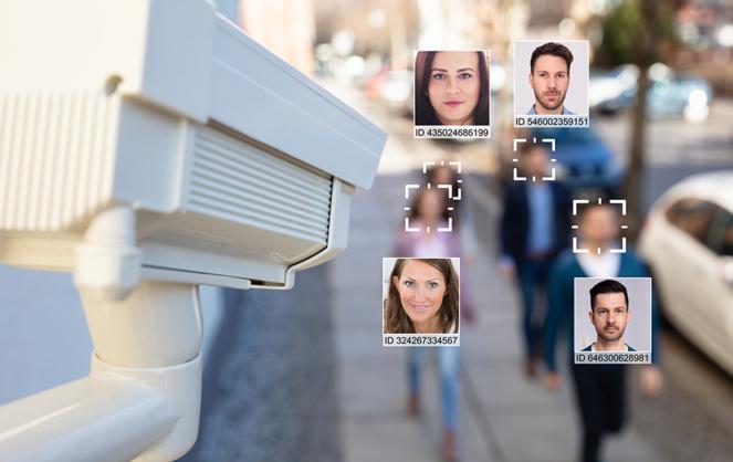 La reconnaissance faciale, une technologie de plus en plus utilisée dans la ville sécuritaire ( Photo Adobe Stock)