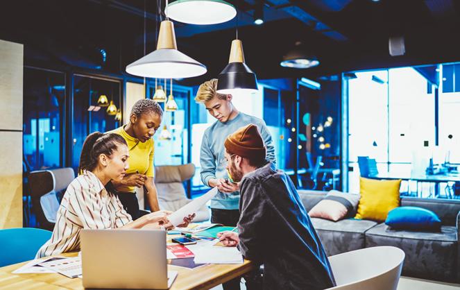 Les jeunes pousses bénéficieront de la dotation la plus importante de la part du plan de relance consacré au numérique (Photo Adobe Stock)