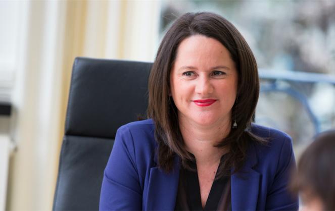 La maire de Nantes et présidente de la Métropole nantaise, Johanna Rolland (photo site www.johannarolland.fr)