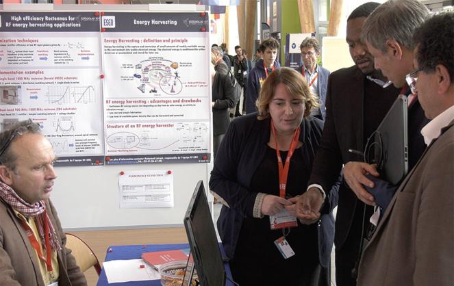 La connected week est l'occasion pour l'écosystème numérique angevin de mettre en lumière les initiatives et les innovations des acteurs locaux. Ici à l'ESEO l'an dernier.