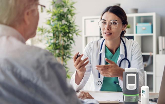 Tess le pilulier connecté et sécurisé qui facilite les traitements en cancérologie (Photo site web Thess Corporate)