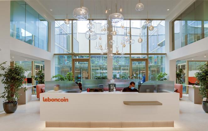 C'est depuis le siège parisien de la plateforme de vente en ligne Leboncoin que sera organisé lbc² (photo publication Leboncoin)