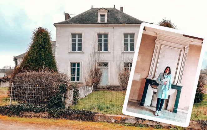 L'ancien presbytère du Breil (49) qui va devenir la Villa Brolium. Un exemple a suivre pour revitaliser les territoires ruraux (photos Constance Nebbula)