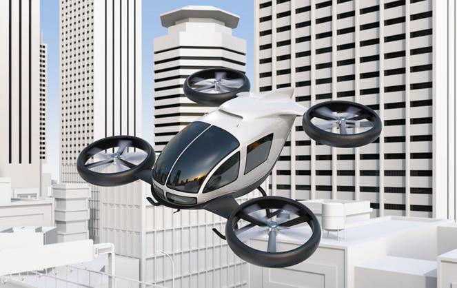 Ce n'est plus de la science-fiction. Ces aéronefs existent, mais avant de les voir voler dans nos cieux il va falloir modifier la réglementation aéronautique. (Photo Adobe Stock)