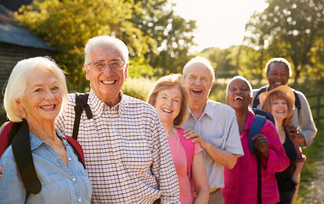 le béguinage est un lieu d'accueil, qui facilite les réunions amicales et l'organisation de rencontres (photo ShutterStock / Association Vivre en béguinage)