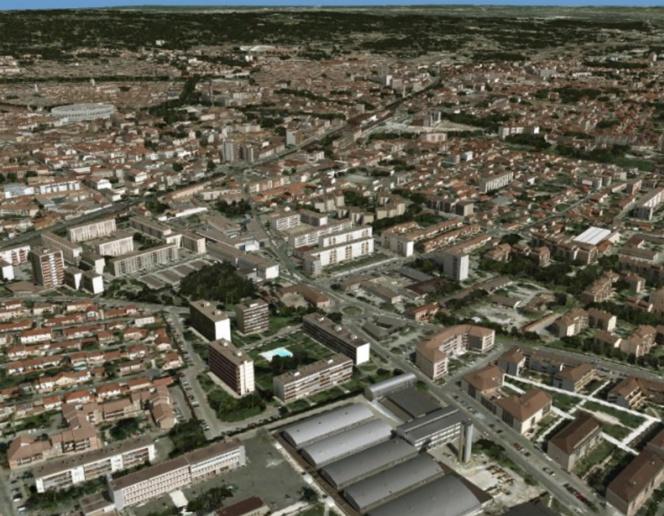 """SIRADEL construit les """" jumeaux numériques """" des villes en 3D pour mieux les aménager (source : site Siradel)"""
