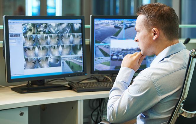 La télésurveillance, de plus en plus utilisée dans nos villes (photo d'archive Adobe Stock)