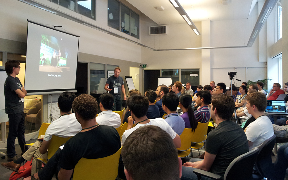 Startup week-end à Sheffield (GB)