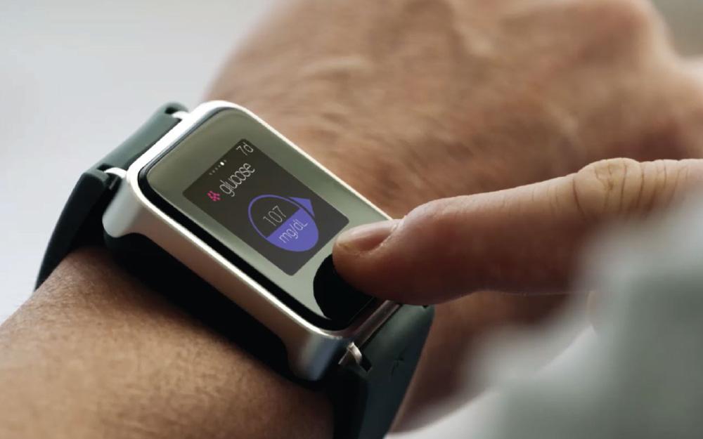 La montre K'Track Glucose (photo PKvitality )