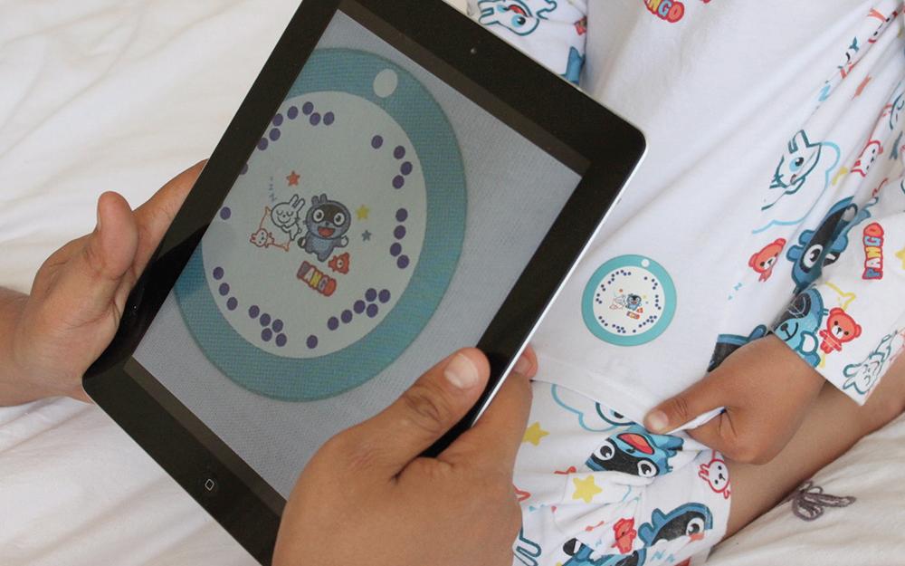 Un logo en réalité augmentée pour donner accès à un livre numérique (Photo La Morétaine)